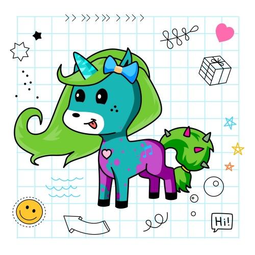 Best friend of eve who designs amazing unicorns.
