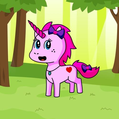 Best friend of queen who designs amazing unicorns.