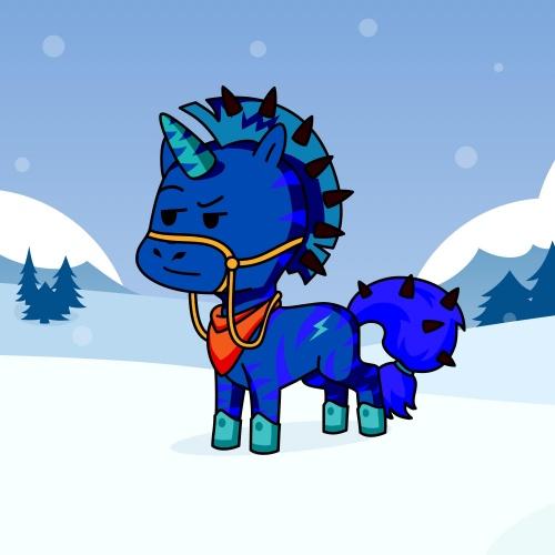 Best friend of roki etu who designs amazing unicorns.