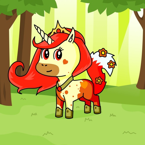 Best friend of Kawii4 who designs amazing unicorns.