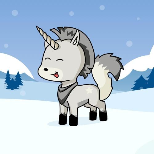 Best friend of Вечерняя Изморось (Огня) who designs amazing unicorns.