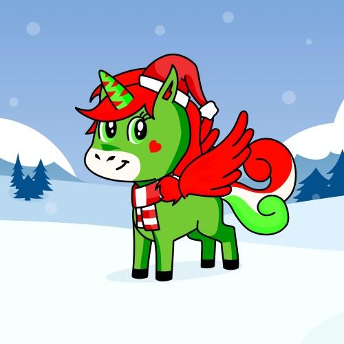 Best friend of Santa who designs amazing unicorns.