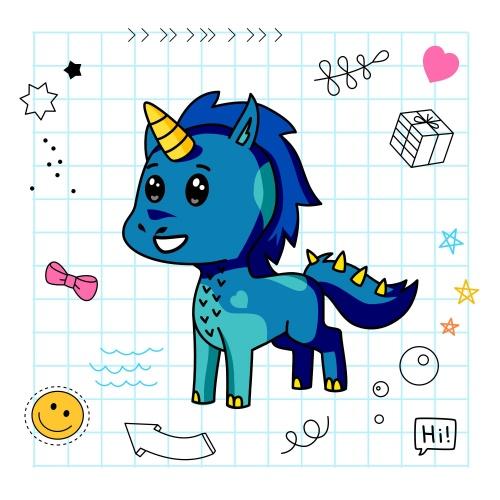 Best friend of Tide Clima who designs amazing unicorns.