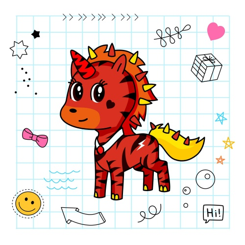 Best friend of carter who designs amazing unicorns.