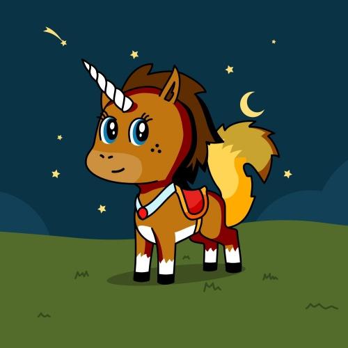 Best friend of Me who designs amazing unicorns.