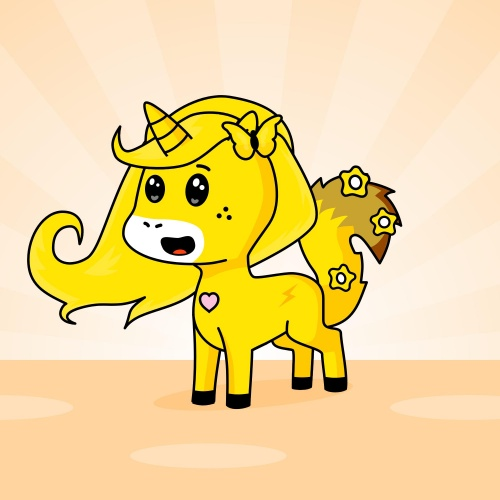 Best friend of candy who designs amazing unicorns.