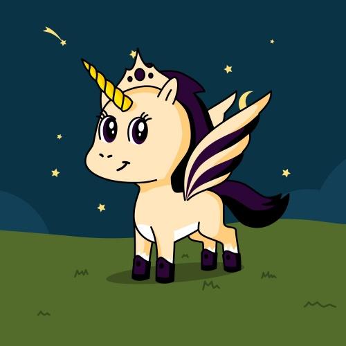 Best friend of Glitter who designs amazing unicorns.