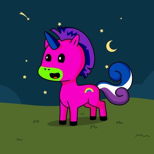 Best friend of R who designs amazing unicorns.