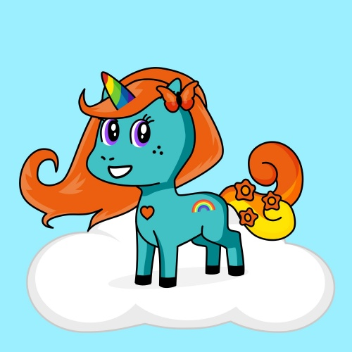 Best friend of Evelyn who designs amazing unicorns.