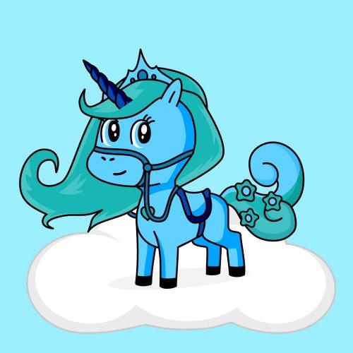 Best friend of chu chu who designs amazing unicorns.
