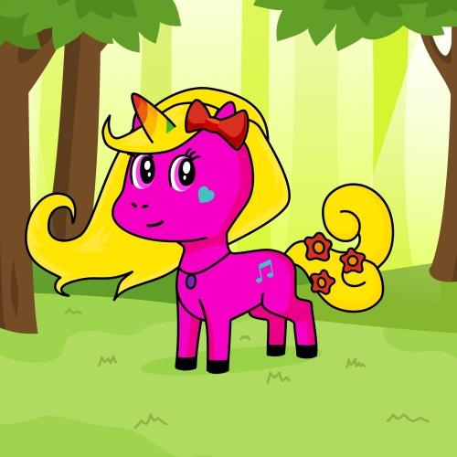 Best friend of ana who designs amazing unicorns.