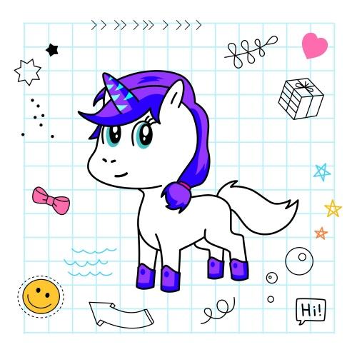 Best friend of Edith who designs amazing unicorns.
